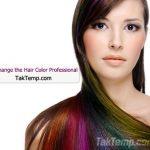 تغییر رنگ مو به صورت حرفه ای
