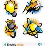 4 وکتور وسایل الکترونیکی – Electric Vector