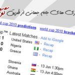 دیدن نتایج و بازی های جام جهانی ار طریق گوگل !