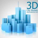 طرح سه بعدی شهر