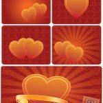 مجموعه تصاویر زمینه زیبای قلب – Heart background