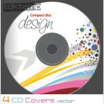 ۴ وکتور کاور سیدی – CD Covers Vector