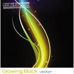 وکتور زمینه درخشان – Glowing Back vector
