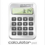 طرح لایهباز زیبای ماشین حساب – Calculator PSD