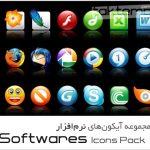مجموعه آیکونهای نرم افزار – Softwares Icon