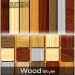 استایل زیبای طرح چوب