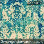 بافت بسیار زیبای Grunge damask