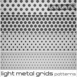 پترن بسیار زیبای Light Metal Grids