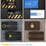 4 طرح وکتور زیبا کارت ویزیت
