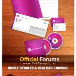 دانلود مجموعه کارت ویزیت و ست اداری Official Forums