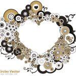 وکتور دایرههای تودرتو – Circles Vector