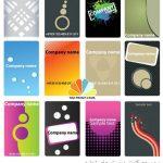 مجموعه کارت ویزیت های تجاری Business Cards Vector