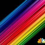 آموزش فتوشاپ – ایجاد خطوط رنگارنگ