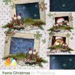دانلود قاب عکس مخصوص کریسمس