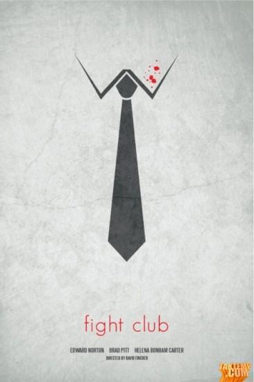 Minimalist-movie-poster-Fight-Club