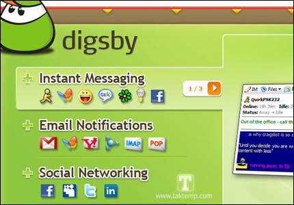 Digsby = IM + Email + Social Networks