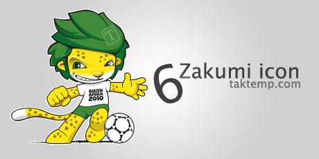 آیکون های زاکومی - Zakumi Icons