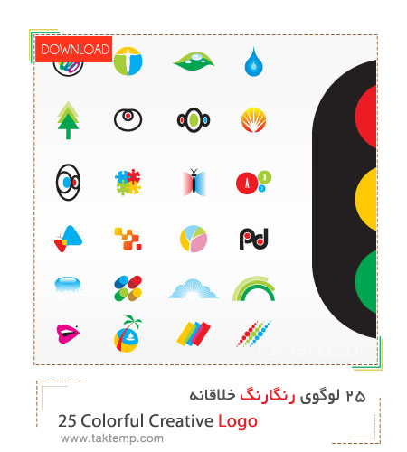 25 Colorful Creative Logo