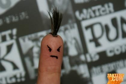 finger-punk