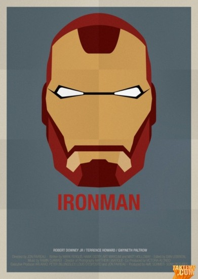 Minimalist-movie-poster-Iron-Man