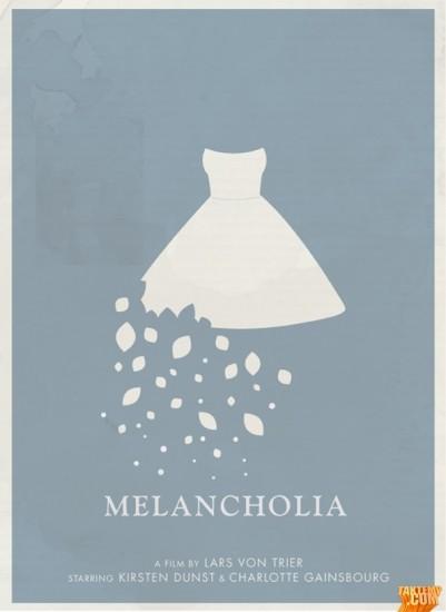 Minimalist-movie-poster-Melancholia