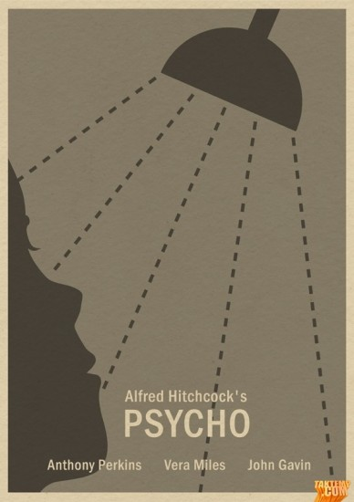 Minimalist-movie-poster-Psycho