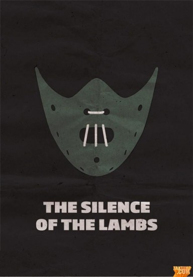 Minimalist-movie-poster-The-Silence-of-the-Lambs