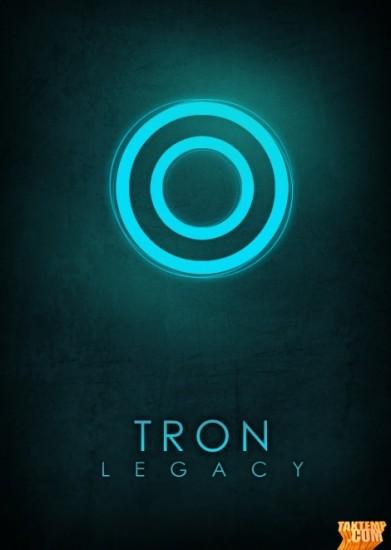 Minimalist-movie-poster-Tron-Legacy